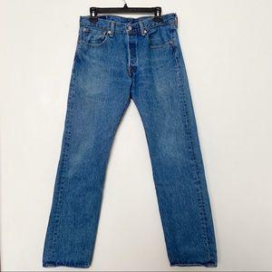 LEVI'S 501 Straight Leg Jeans -Size 31